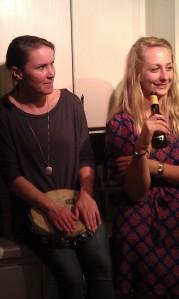 Kerri Koczen and Danielle Roos