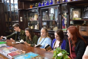 Reading Dubliners aloud at Sweny