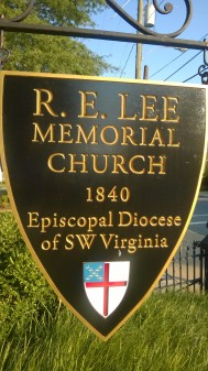 RE Lee sign