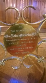pendleton-plaque