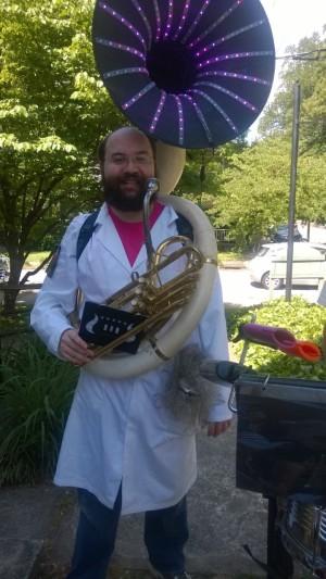 Sousaphone guy