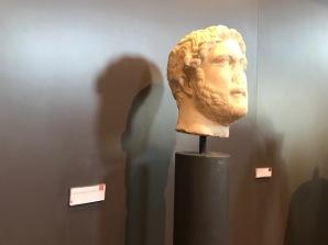 Hadrian's head