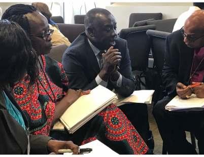 Helen Abyei, Noel Kulang, bp Augustine